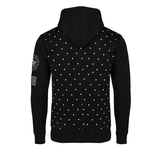 basic dots bluza z kapturem luxx all
